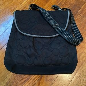 Thirty One Vary You Quilted Dots Convertible Bag